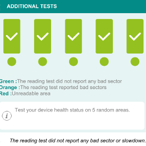 SDC reading tests