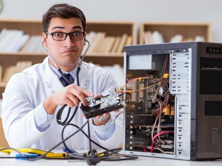 Réparateur disque dur